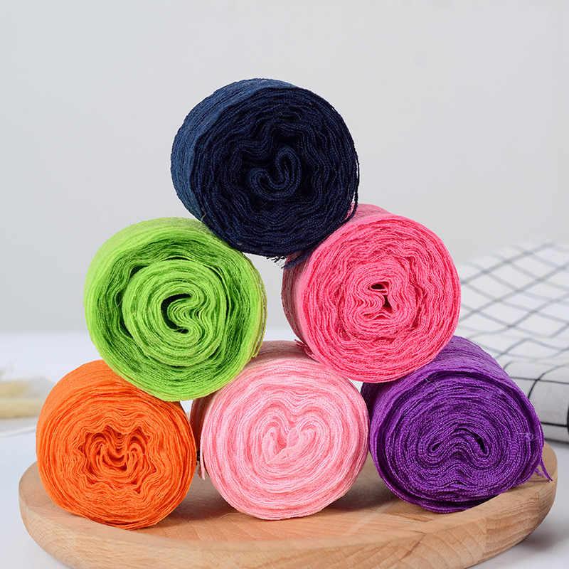 10 m/rolka 4.5CM taśma koronkowa tkanina odzieżowa DIY haftowany przewód sieciowy do szycia dekoracji afrykański materiał koronkowy ręcznie robiony materiał