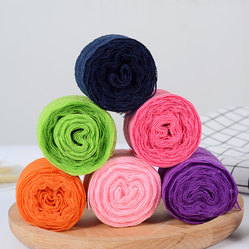 4 5CM Lace Ribbon Tape Trim Fabric DIY Embroidered Net Cord For Sewing Decoration African Lace Fabric Handmade Materials in Ribbons from Home Garden