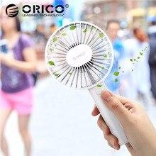 Orico Portable USB Fan Mini Gadgets Cool Handy Flexible Fan with 3 Speed USB Light for