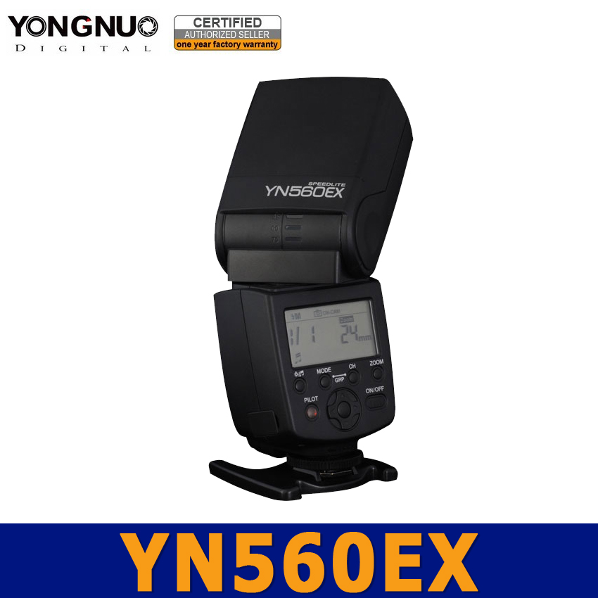 Yongnuo Flash Speedlite Speedlight YN560 EX YN560EX ETTL II Auto for Canon 5D 6D 60D 600D 650D 70D 700D 100D 1000D 1100D 1200D 2017 new meike mk 930 ii flash speedlight speedlite for canon 6d eos 5d 5d2 5d mark iii ii as yongnuo yn 560 yn560 ii yn560ii