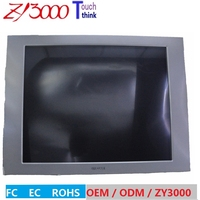 new Stock 17 Inch 4:3 serial port / R232 Open Frame strong metal casing 5 wire resistive industrial touch Screen Monitor