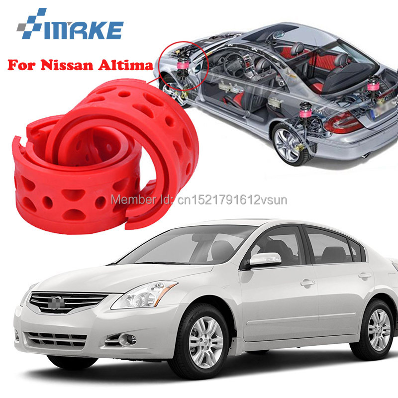 smRKE For Nissan Altima High-quality Front /Rear Car Auto Shock Absorber Spring Bumper Power Cushion Buffer bsg fv21811gtn 51 1995 nissan altima 4 door sedan rear driver vent green tint auto glass