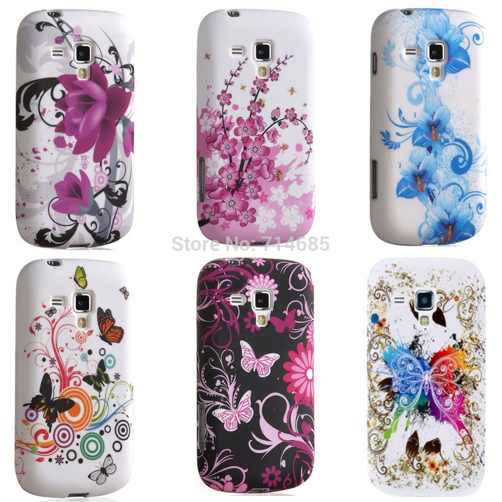 New Fashion TPU Gel Phone Case Cover for Samsung Galaxy S ...
