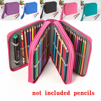 72 Holders Waterproof Handy School Pencils Case Large Capacity Colored Pencil Bag For Student Gift Art