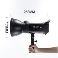 Falcon Eyes LED Studio Fill Light 100W Bi color 3000K 8000K Adjustable Fotografia Lighting With Bowen Bayonet Handle BL 10TD