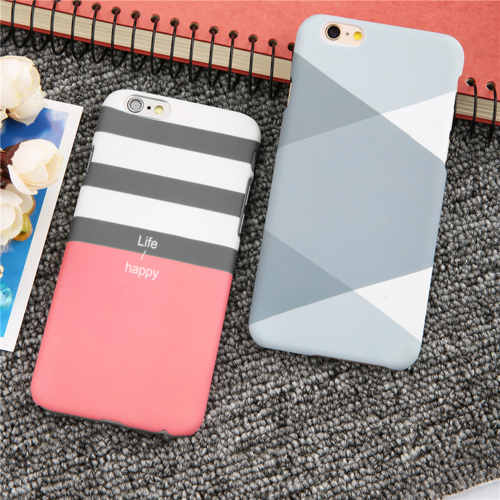 Ultra thin Frosted Matte Phone Cases For iPhone 7 6 6s Plus SE 5 5s Case Hard PC Cover S ...