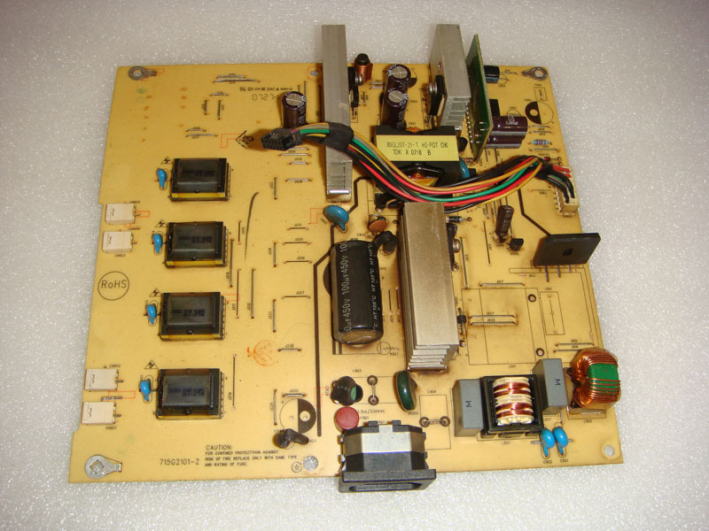 Free Shipping>Original  D222 Wide power supply board  210V Power Board 715G2101-2-100% Tested Working free shipping original d222 wide power supply board 210v power board 715g2101 2 100% tested working