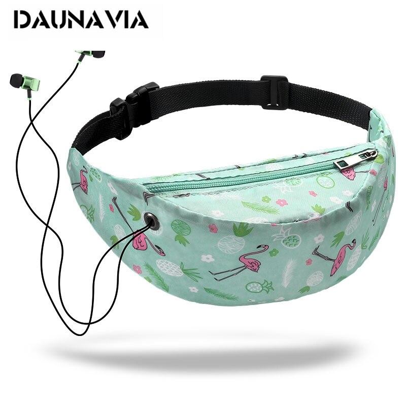 3D colorido impreso señoras en forma de almohada de bolsillos de cadera cinturón bolsa senderismo viajes bolso del teléfono móvil bolsillos nuevo