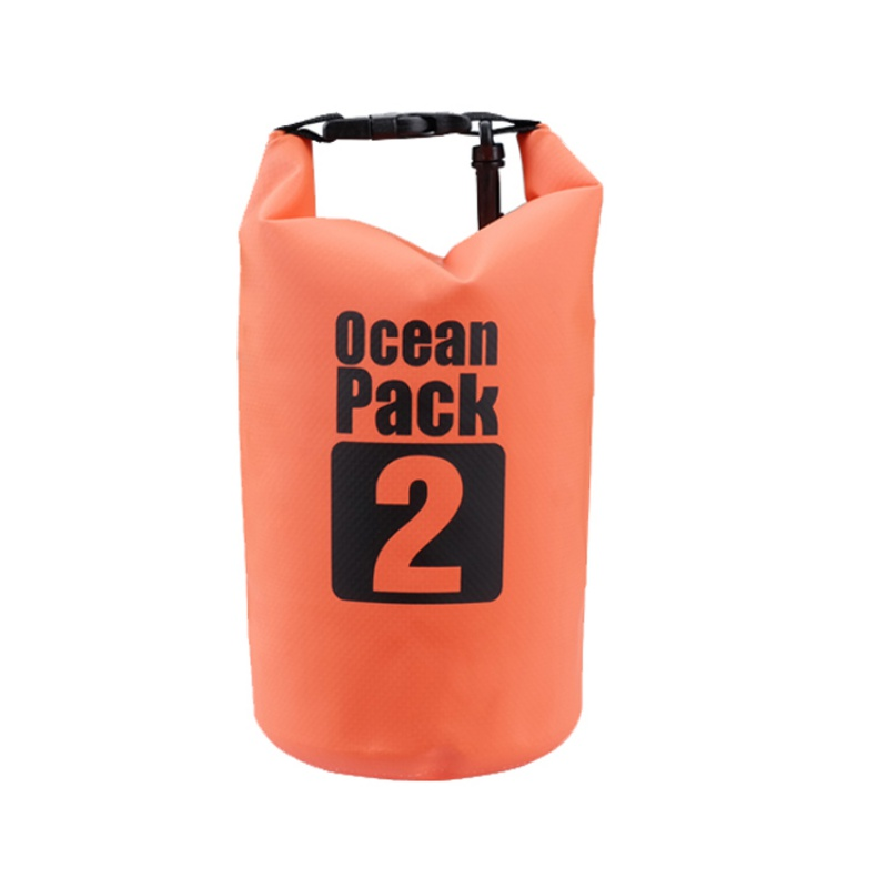 Outdoor  2L,3L,5L,Ultralight Dry Bags Surf Waterproof Dry Bag Letter Print Beach Bag for Pakcage Pvc Boat Diving Foldable nznx