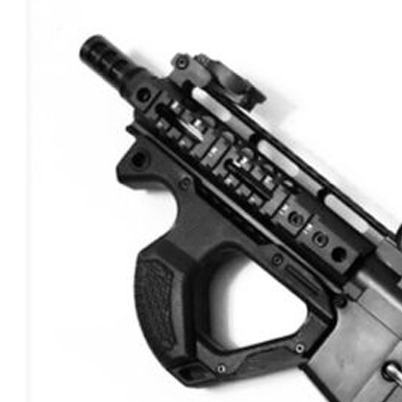 Toy gun tactics 3D new model jinming8 XM316 water cartridge retrofitted escape from CQR CQR butt grip science fiction kit T101(China)