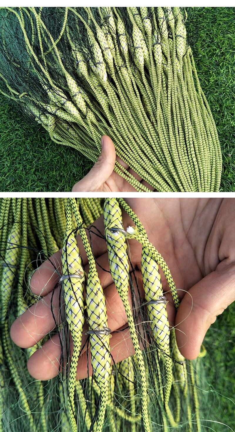 monofilamento de nylon linha de pesca rede
