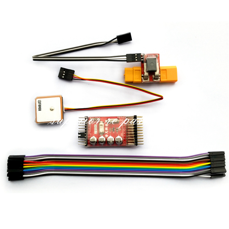 F2 Flight Controller + OSD Flight Driver Auto Return U2 Firmware Compatible + XT60 Plug or T-plug for FPV Photography mf2300 f2