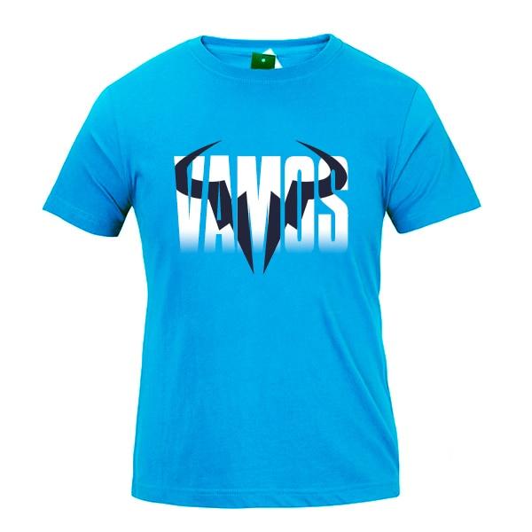 T Shirts Sports Outdoors Custom Womens Rafa Vamos Rafael Nadal Logo Tee Shirts Short Sleeve Fan T Shirt For Women Tshirt Clothes