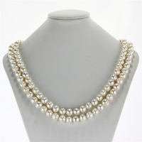 SNH 11mm A 47 Off Round Pearl Necklace Potato Natural Freshwater Long Black Pearl Necklace Jewelry