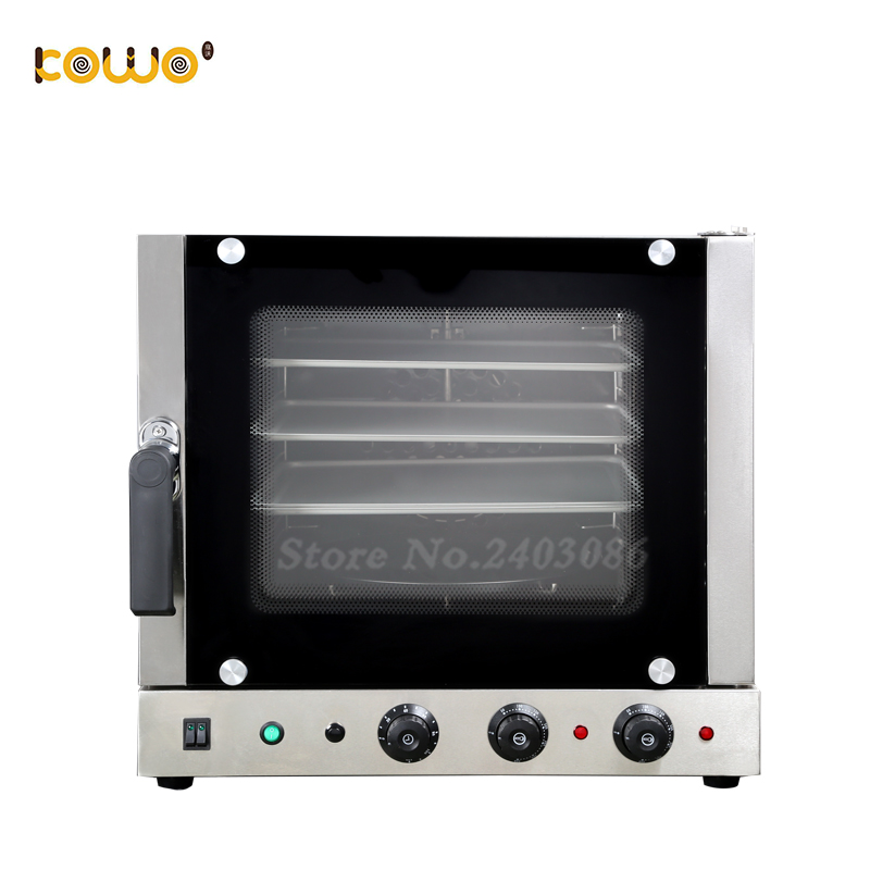 commercial 60L capacity electric convection oven for baking bread cake pizza