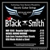 Black Smith Strings Nickel Round Wound Electric Guitar Strings, Made in Korea 1