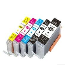 5x Ink Cartridge PGI570 CLI571 Grey Inks Compatible for Canon PIXMA MG7750 MG7751 MG7752 MG7753 Printer