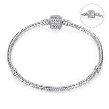 Модная цепочка-змейка подходит в европейском и американском стиле DIY браслет, великолепный браслет для женщин ювелирные изделия брелок делая подарки
