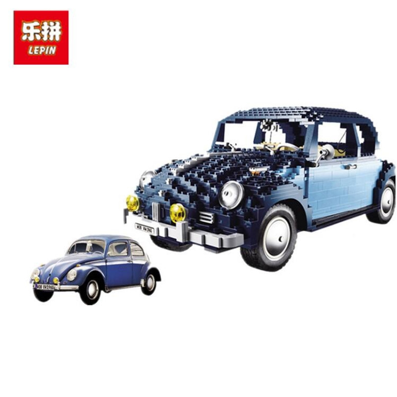 Lepin 21014 1707Pcs Classic Series The Ultimate Beetle Set car-styling Building Blocks Bricks Toys for children gifts автов махачкале ваз 21014 год 2011