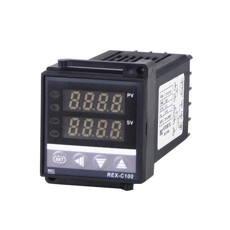 Dual Digital PID Temperature Controller RKC REX-C100 48*48 K Type