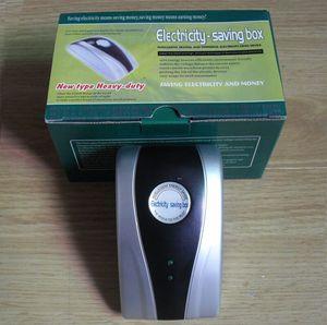"Image 5 - 500X האיחוד האירופי בריטניה ארה""ב Plug אנרגיה Saver 90 V 240 V חדש סוג כוח חשמל חיסכון תיבת עבור בית משרד ahorrador דה corriente Wholesales"