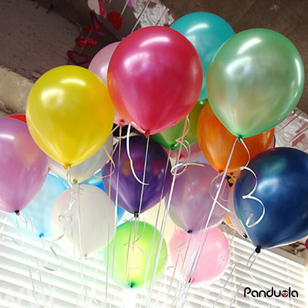 100Pcs/Pack 10inch1.5g Helium / Latex Balloon Air Balls Inflatable Toy Wedding P