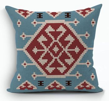 Blue Kilim Cushion Cover