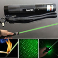 New Arrival High quality SDL 303 Green Laser Pointer High power laserpointer with babysbreath light Burning Match free shipping