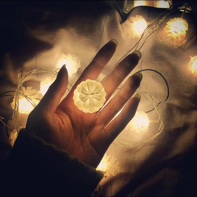Weihnachtsbeleuchtung Tannenzapfen.Us 9 15 Wasserdichte Outdoor Led Leuchten String Tannenzapfen Kronleuchter Hof Weihnachtsbeleuchtung Balkon Im Freien In Wasserdichte Outdoor
