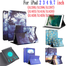 Buy Case for iPad 2 3 4 9.7inch painted pattern clamshell soft silicone tablet case for iPad 2 3 4 9.7 inches directly from merchant!