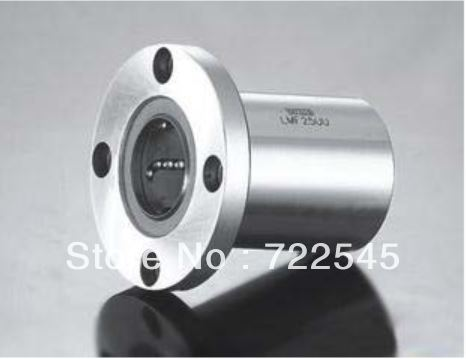 LMF50UU 50mm x 80mm x 100mm Round Flange Linear Bushing Ball Bearing