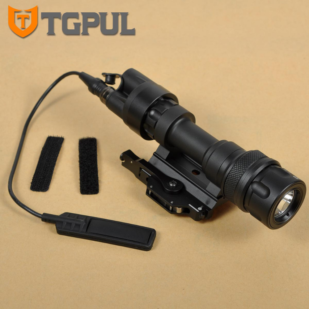 TGPUL Newest M952V IR Scout Light QD Mount LED WeaponLight Waterproof Flashlight Constant White / IR /Momentary White Output tgpul tactical m300b weapon light rifle mini scout light led flashlight constant momentary output for hunting