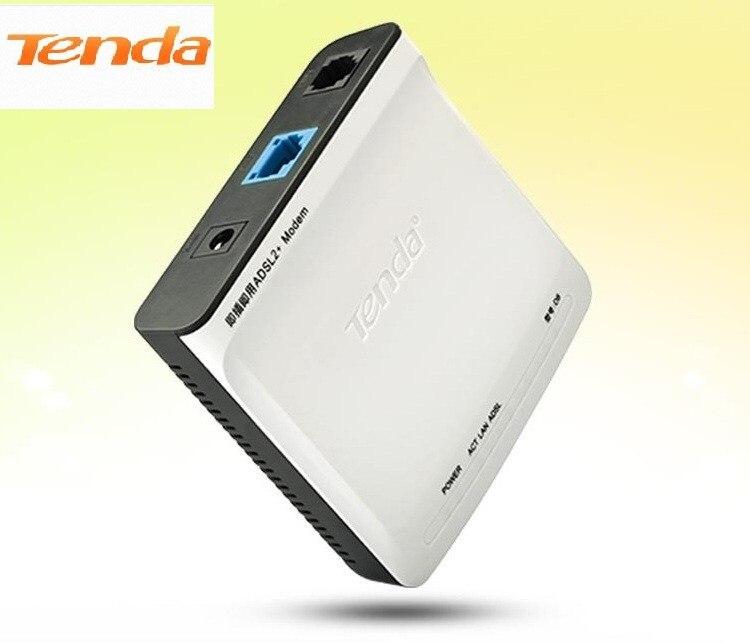Tenda D8 High Speed DSL Internet Modem ADSL 2+ Wired Router ADSL ...
