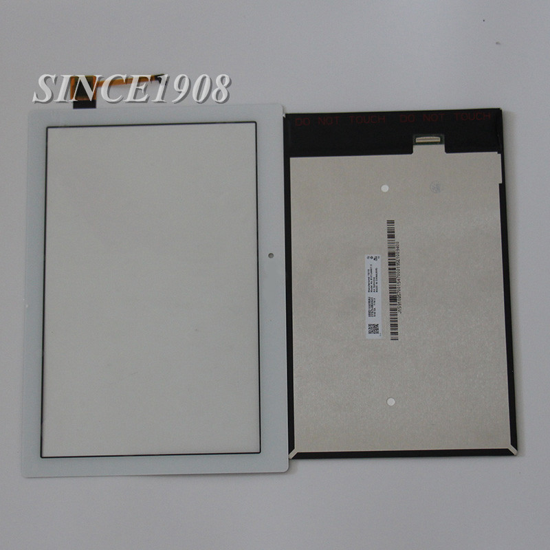 For Lenovo TAB2 A10-70F A10-70 Tablet PC LCD Display with Touch Screen Digitizer Glass Parts+free tools hsd103ipw1 a10 hsd103ipw1 lcd displays screen