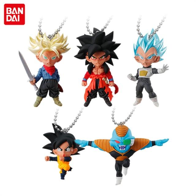 """""""Dragon Ball Super"""" Original BANDAI Gashapon Toy PVC Figure UDM EXPLOSÃO 32-Conjunto de 5 pcs Filho goten Goku Vegeta Trunks Burter"""