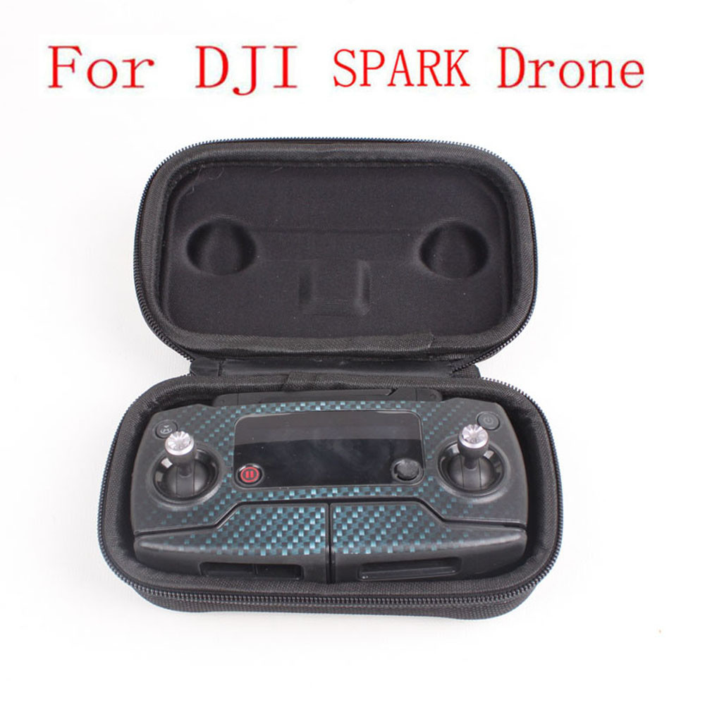 For DJI SPARK Remote Control Strorage Portable Drone Carrying Travel Case Bag Box For DJI Accessories 20M Drop Shipping