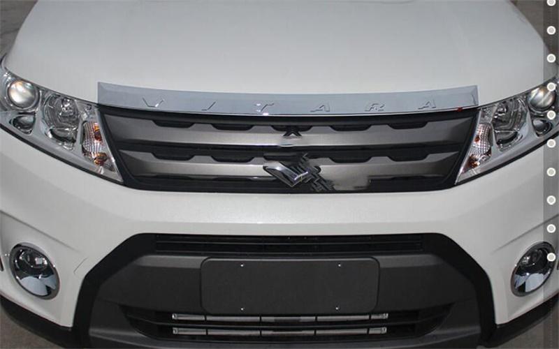 1pcs-Front-Hood-Grill-Grille-Bonnet-Cover-Molding-Trim-For-Suzuki-Vitara-15-16 (2)