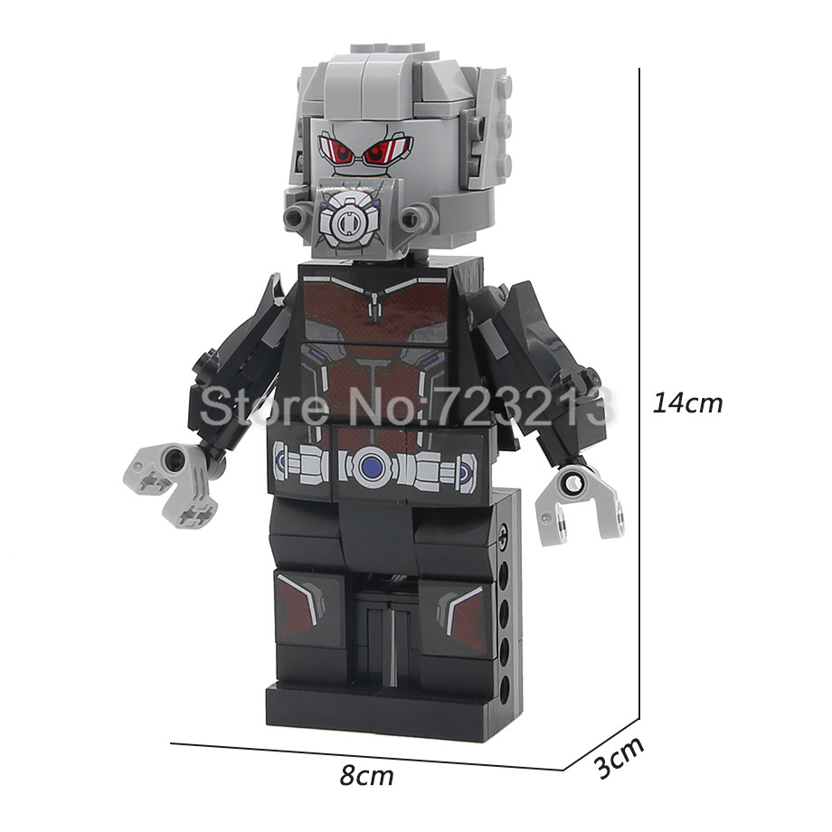 Single 14cm Ant-Man Super Hero Marvel Figure Set Antman Ant Man Ares Building Blocks Sets Models Bricks D120 Toys for ChildrenSingle 14cm Ant-Man Super Hero Marvel Figure Set Antman Ant Man Ares Building Blocks Sets Models Bricks D120 Toys for Children