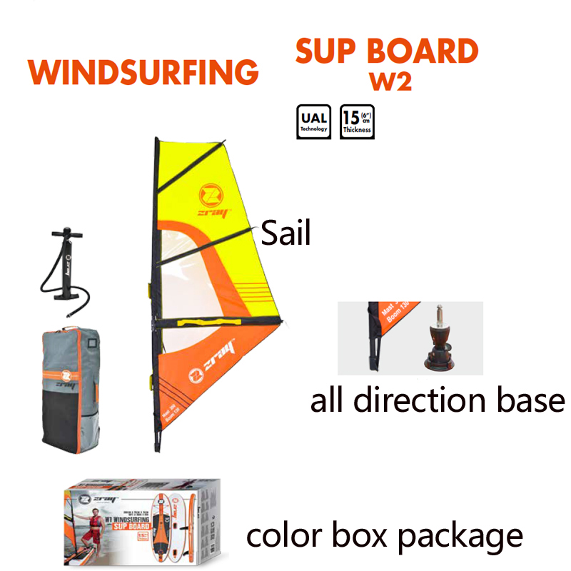 Voile panneau SUP 305*76*15 m Z RAY W1 stable planche à pagaie gonflable surf kayak bateau sport bodyboard rame windsail - 6