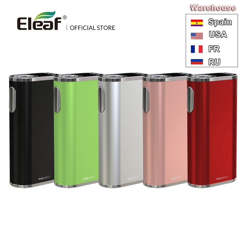 Batterie d'origine Eleaf iStick MELO Mod avec 4400 mAh batterie intégrée sortie 60 w puissance en watts VW/dérivation/TC/TCR Mode E Cigarette