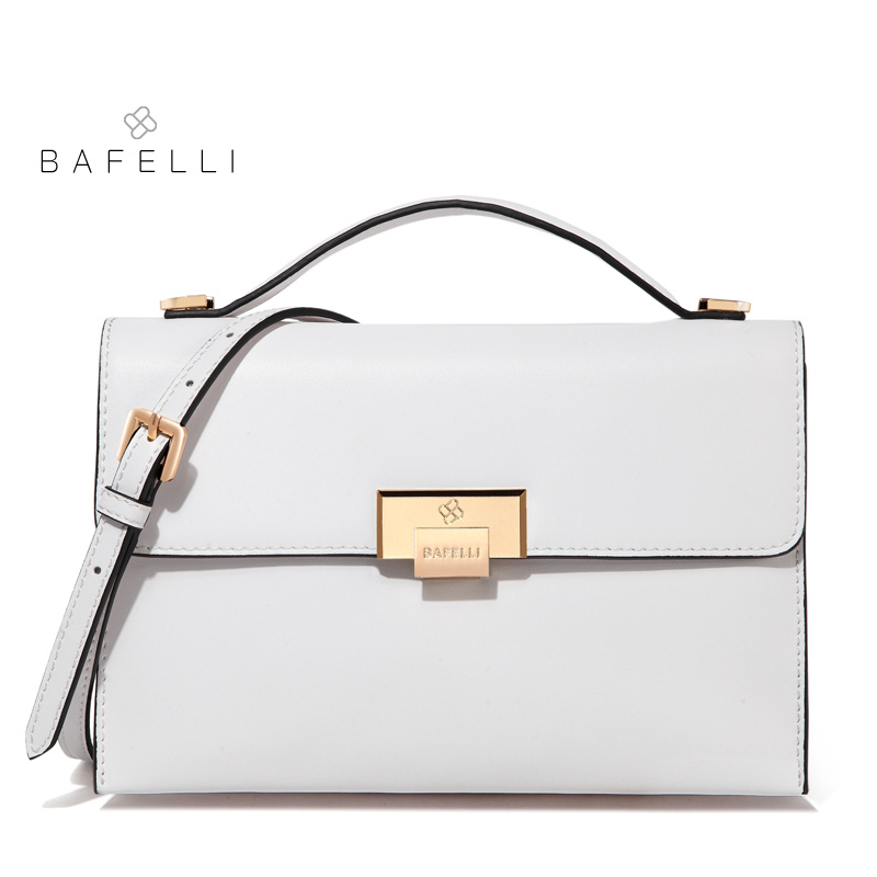 Bafelli женщины сумка спилок свежий цвет конверта белый красный Bolsos Mujer Crossbody сумки для женщин сумки через плечо