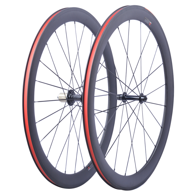 Factory Sales Super Light  carbon bicycle wheelset 700C 50mm Clincher Tubular Road Carbon Wheelset  Carbon bike Road wheelsFactory Sales Super Light  carbon bicycle wheelset 700C 50mm Clincher Tubular Road Carbon Wheelset  Carbon bike Road wheels
