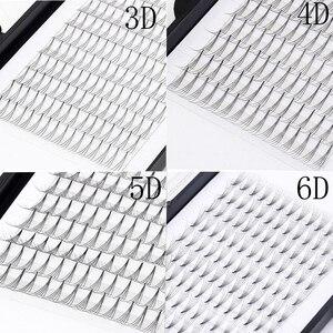 Image 1 - Premade cilt kirpik hayranları 3D 4D 5D 6D ses hayranları uzatma profesyonel Cils hacim kirpik rus hacmi kirpik uzantıları