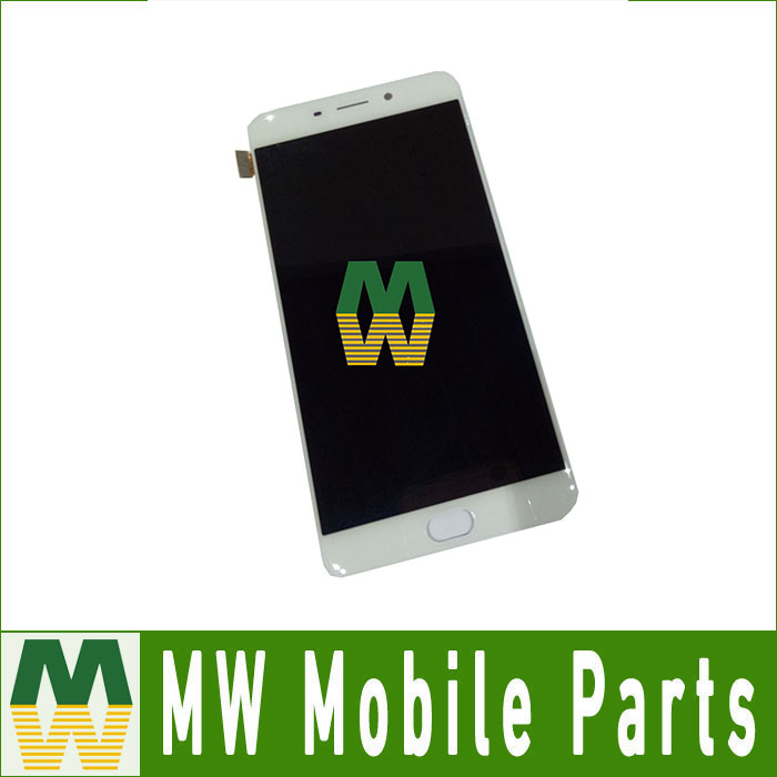 High Quality 1PC /Lot  LCD Display +Touch Screen  Assembly  Digitizer For OPPO R9 plus White Color