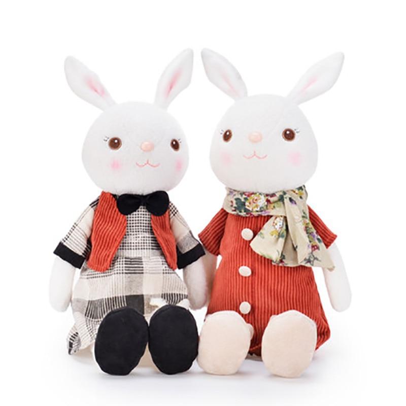 Bunny Toys For Girls : Metoo dolls wedding plush tiramisu bunny rabbit toy royal