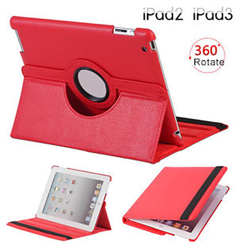 RYKKZ for Ipad pro 11 Case Revolving Leather Protect Cover Anti-Dust Drop Resistance Waterproof Flip Cover for Ipad air 2