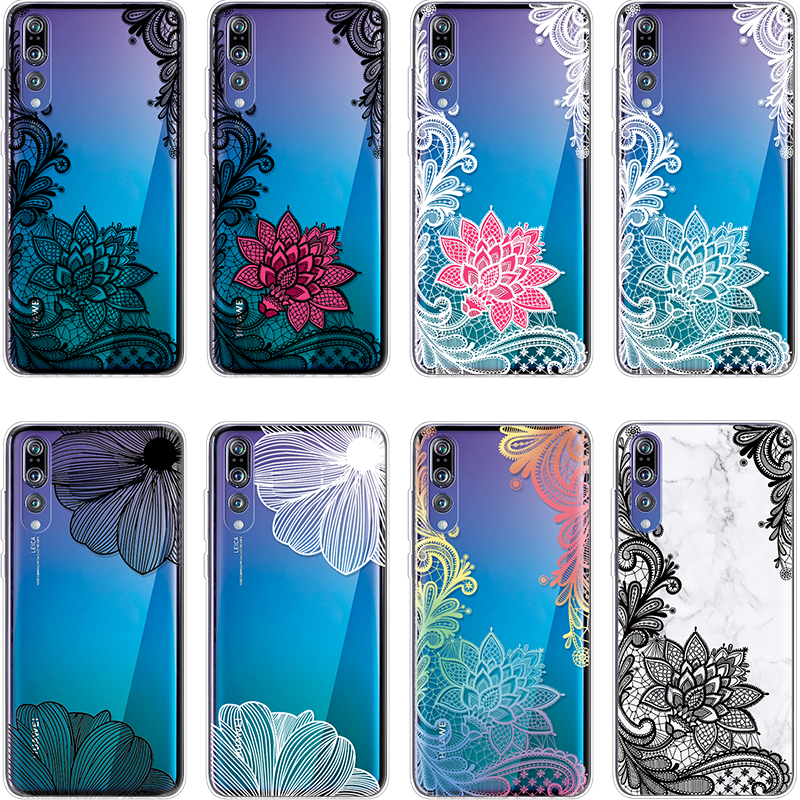 Mandala Cover For TPU Huawei P20 Lite PSmart Z P8 P9 P10 Plus mini Mate 10 Pro 20 Lite P Smart Plus 2019 For Huawei P30 Pro Case