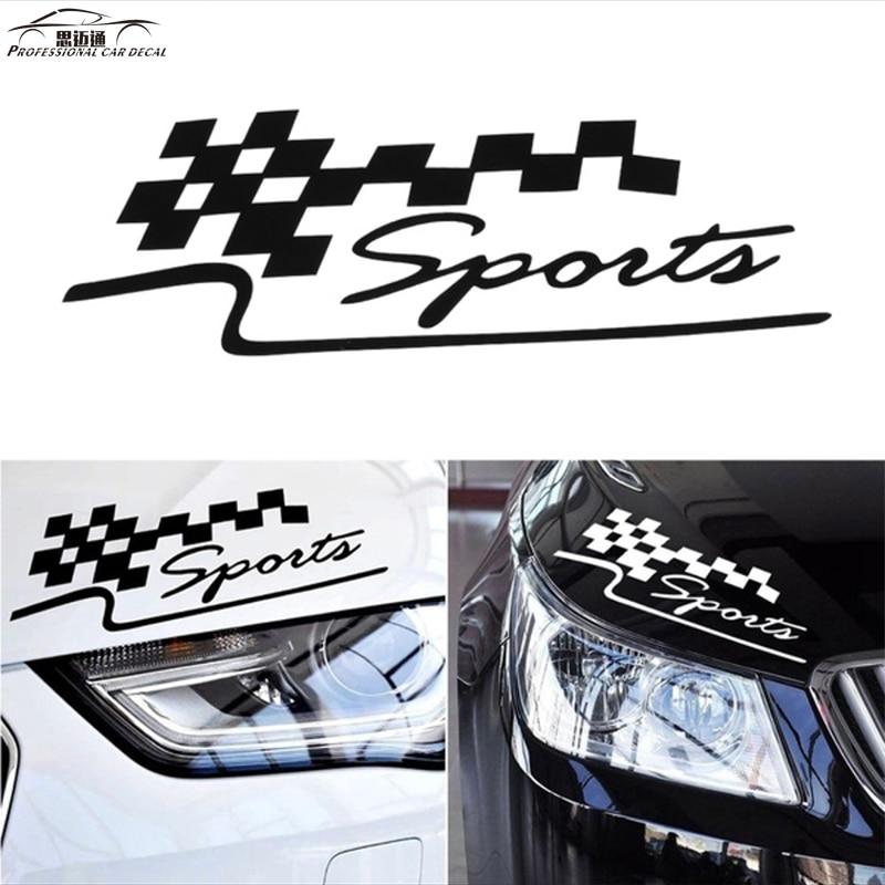 ملصقات السيارات اكسسوارات السيارات التصميم ملصق إلكتروني الرياضية للماء عاكس شارات لفورد Vw Opel Renault Bmw كيا Reflective Decal Car Styling Stickersauto Accessories Aliexpress