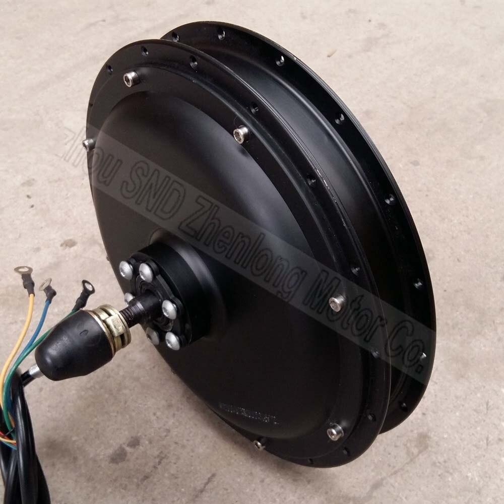 36 V 48 V 500 W e moteur de moyeu de vélo moteur électrique roue arrière moyeu moteur roue libre vélo électrique sans brosse moteur arrière sans engrenage