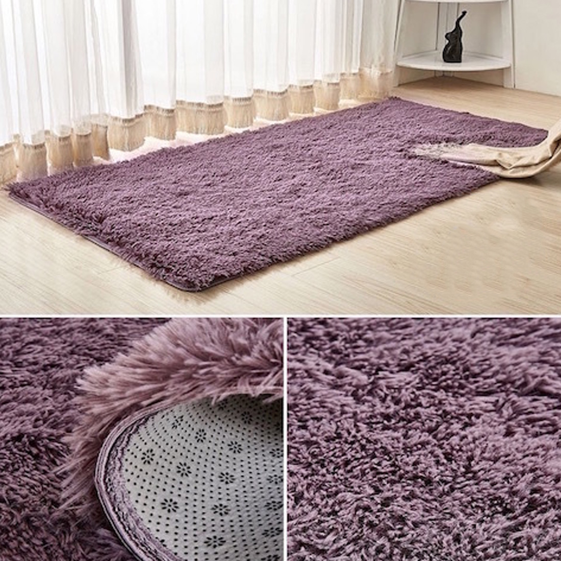 Living Room Mats European Home Warm Plush Floor Rugs
